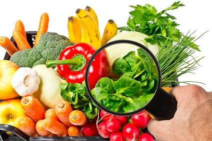 Выбирайте овощи и фрукты меньше накапливающие пестициды