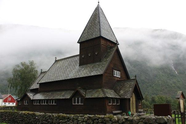 Деревянная церковь викингов